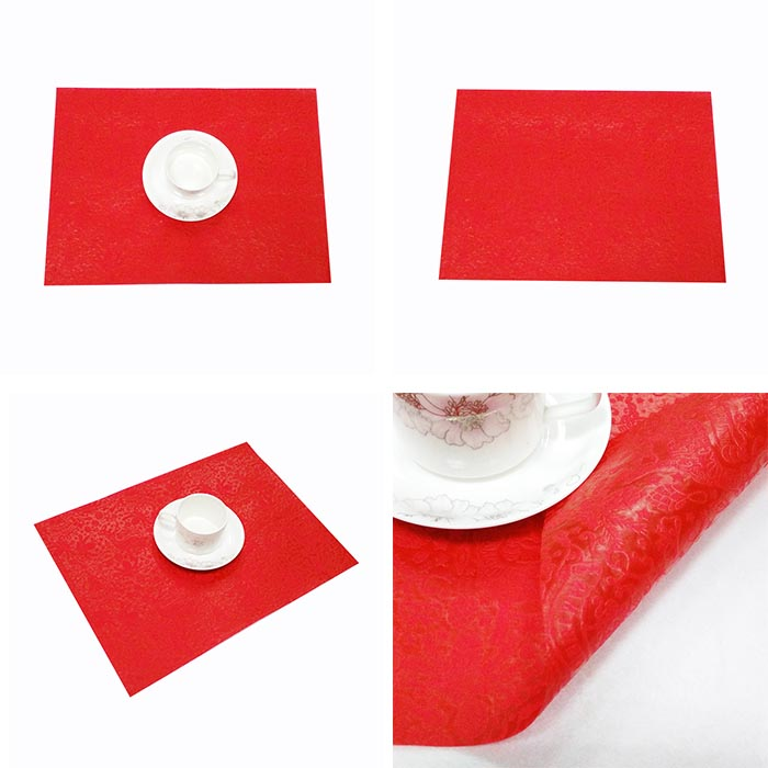 Disposable table placemats
