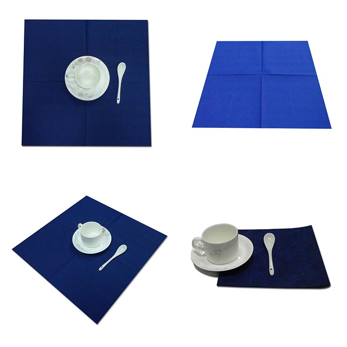Disposable airlaid napkin material