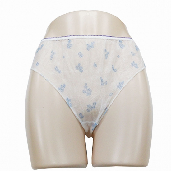 Lady disposable paper underwear