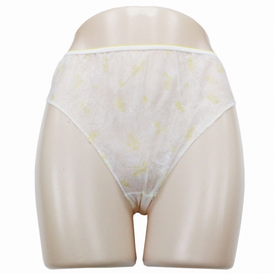 Adult disposable paper pants
